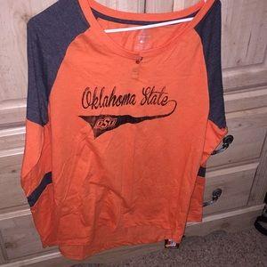 New womens Oklahoma State baseball shirt